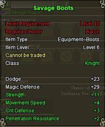 Knight Sav boot Green