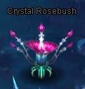 Crystal Rosebush