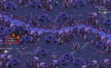 Cheurna Gorge map