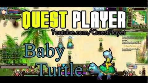 Crystal Saga Baby Turtle Mount