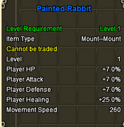 Painted rabbit stats