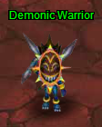 Demonic warrior