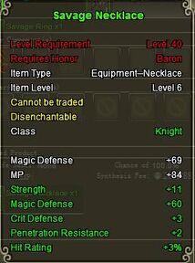 Knight Sav neck Green