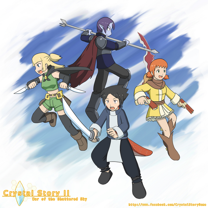 Crystal Story II War of the Shattered Sky