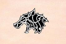 Celtic viking wolf by robs0n-d68zjgo