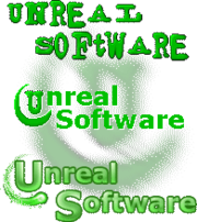Unreal Software logo history
