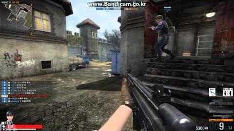 카스온라인2 - G3KA4 스텔스 모드 플레이 영상 (Counter-Strike Online 2)