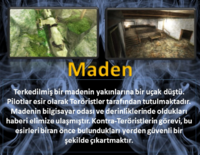Downed turkey poster