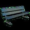Hide bench indoor001a