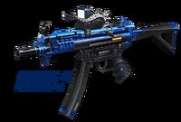 Balrog3 blue korea poster