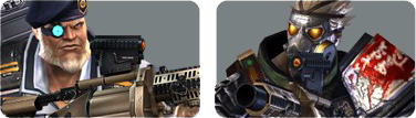 Rushbattle commando icon