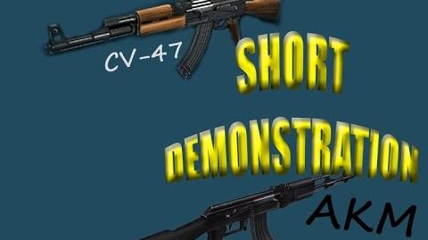 CV47 & AKM Short Demonstration by aruya gaming