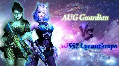 CSO CSN Z Weapon Review AUG Guardian vs SG552 Lycanthrope