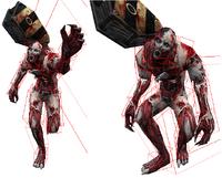 Zombie origin hitbox
