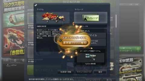 일본 카스 온라인 적룡포 뽑자!
