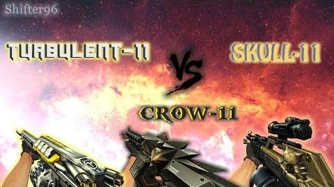 CSO CSN Z-Weapon Review TURBULENT-11 vs CROW-11 vs SKULL-11