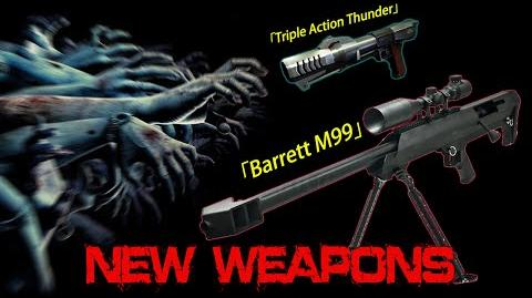 Barrett M99 and Triple Action Thunder (Counter-Strike Online 2)