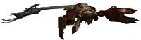 Scorpion dead