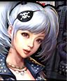 Hud pirategirl