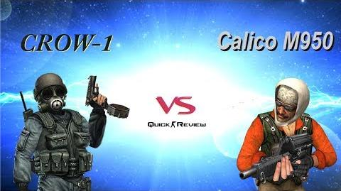 CSO CSN Z Weapon Review CROW-1 vs Calico M950 (Quick Review)