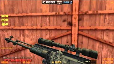 CSN Z Zombie Scenario Bendita wall penetration power