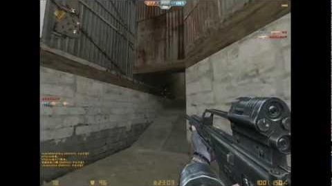 Counter Strike online - Weapon demo MG36