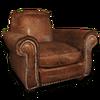 Hide sofa chair