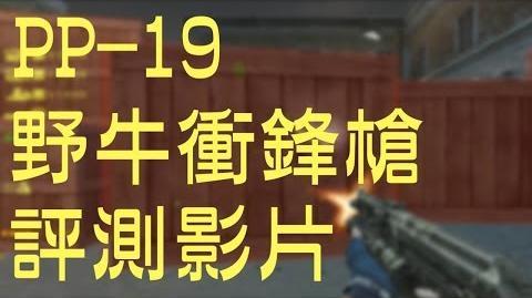 【 CSO 】PP-19 野牛衝鋒槍 │ 評測影片