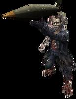 Zombiejack model rocket