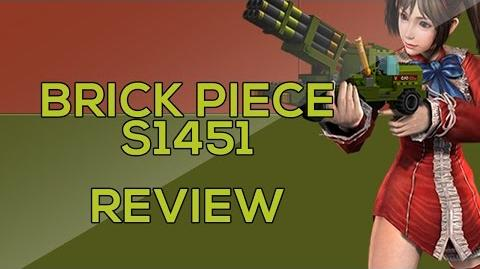 CSO Weapon Review - Brick Piece S1451 (브릭피스)