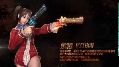 CSO China Trailer - Python Desperado, Thunderbolt 6, Dragon Glaive 6