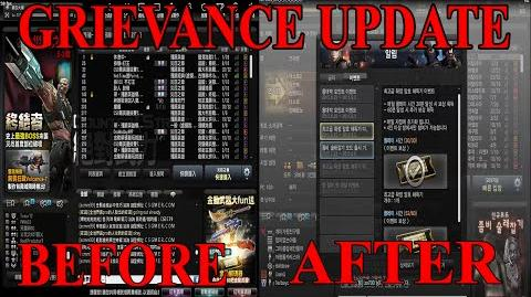 Grievance Update