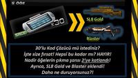 Blaster sl8g poster turkey