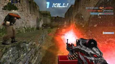 CS Online Balrog-VII or bigtree(古嶺神樹)-Zombie BOT(Taiwan Version)