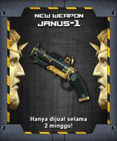 JANUS-1 indonesia poster