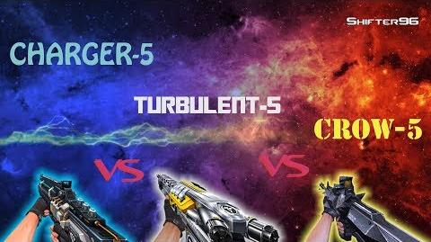 CSO CSN Z-Weapon Review CHARGER-5 vs TURBULENT-5 vs CROW-5 (Rematch)