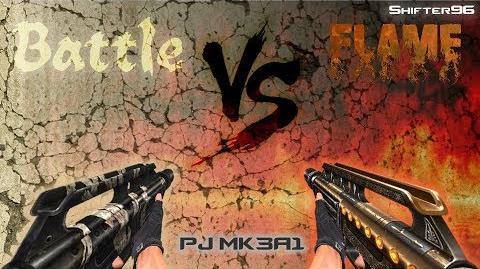 CSO CSN Z Weapon Review Battle PJ MK3A1 vs Flame PJ MK3A1