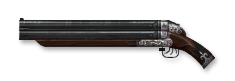 Triple-barreled shotgun