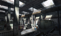 Train garage