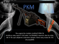 Pkm turkey poster