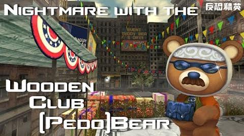 CS Online - Teddy Terror(Wooden Club Bear) on Nightmare