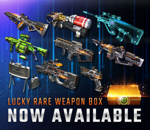 Lucky rare weapon box csnz