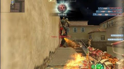 카스온라인 상향후 M249 피닉스 봇좀비 플레이(Update M249 Phoenix Bot Zombie Play)
