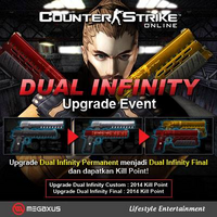 Dual infinity indonesia poster
