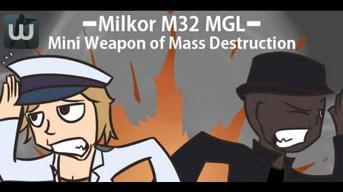 """Gameplay of Milkor M32 MGL! """"WE HAVE DARKEN THE MAP!"""""""