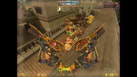 CSO 카스온라인 듀얼 베레타 건슬링거 봇좀비 플레이(Dual Beret Gunslinger Bot Zombie Play)