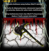 Skull9 poster turkey