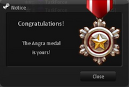 Angra medal CSNZ