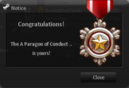 A Paragon of Conduct