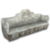 Hide bench concrete